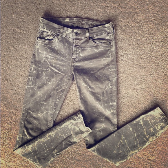 7 For All Mankind Denim - 7 for all mankind gwenevere jeans